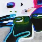 SarahKenikiePalmer_2014_acryliconboard_Glasses